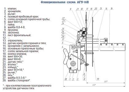 инструкция на печь агу 16п